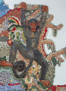 Mixed-media mosaic, South Africa