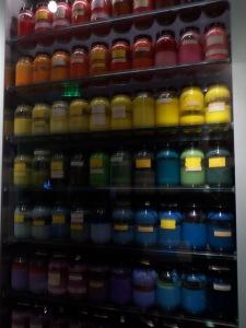 Colored cel paints